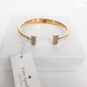 Kate Spade Lilac Raising The Bar Bracelet